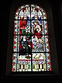 Jeumont (Nord, Fr) Église St.Martin, vitrail 07 le Sacré Coeur et M.M.Alacoque.JPG