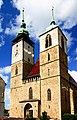 Jihlava. Jakubské náměstí, kostel sv. Jakuba Většího.jpg