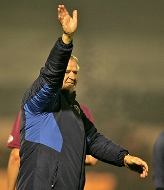Jim Jefferies (footballer) - Jefferies in his second spell as Hearts manager