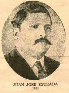 Juan José Estrada President of Nicaragua