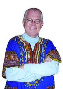 Joe Healey in full African Shirt.jpeg