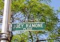 Joey Ramone Place NYC streetsign.jpg