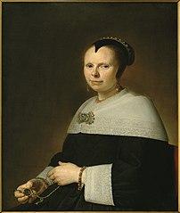 Portrait of Eva Vos