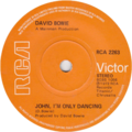 John, I'm Only Dancing by David Bowie UK vinyl single.png