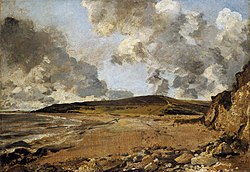 John Constable: Weymouth Bay: Bowleaze Cove and Jordon Hill