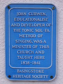John curwen basingstoke heritage