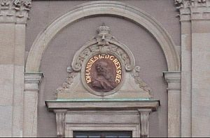 John III of Sweden - Image of King John on a wall of Stockholm Palace.