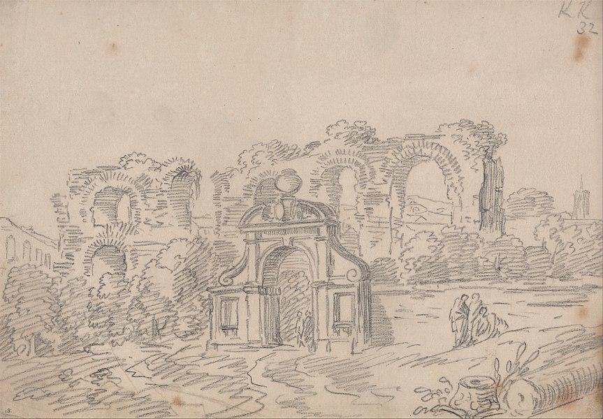 roman aqueduct - image 1
