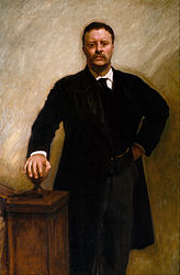 John Singer Sargent: Theodore Roosevelt