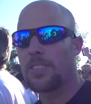 Citizens for Constitutional Freedom - Jon Ritzheimer, pictured here in May 2015, was identified as one of the leaders of the militant occupation.