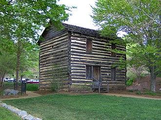 Jonesborough, Tennessee - The Christopher Taylor House, built c. 1777