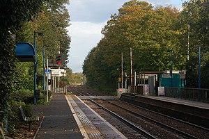 Jordanstown railway station - Jordanstown station in 2006