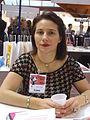 Joséphine Dedet à la foire du livre 2010 de Brive-la-Gaillarde.JPG
