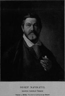 Josef Navrátil (obraz J. Čermáka)