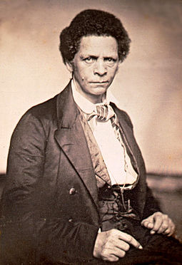 Joseph Jenkins Roberts, born and raised in Norfolk, became the first President of Liberia. Joseph Jenkins Roberts.jpg