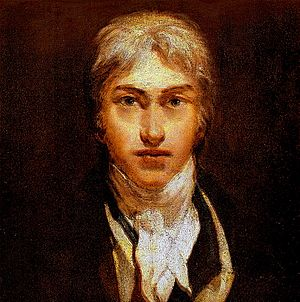 J.M.W. Turner self-portrait, oil on canvas, ci...