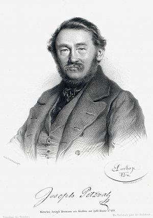 Joseph Petzval - Image: Joseph Petzval