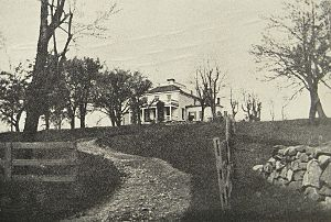 John André - Joshua Hett Smith House in 1909