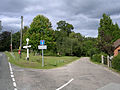 Junction north of Seaman's Corner, Minstead, New Forest - geograph.org.uk - 54987.jpg