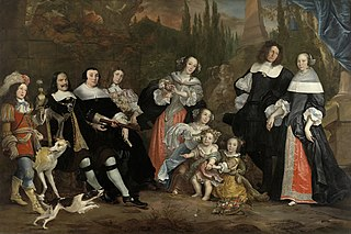 Michiel de Ruyter and his family