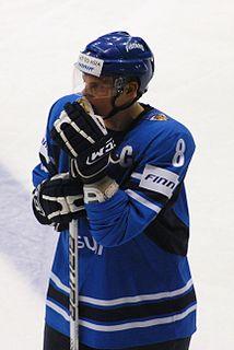 Jyri Niemi Finnish ice hockey defenceman