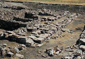 Kültepe - Hittite palace at Kültepe
