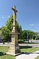 Kříž na návsi, Luběnice, okres Olomouc.jpg