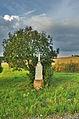 Kříž u cesty na Melkov, Okrouhlá, okres Blansko.jpg