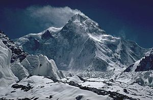The north side of the K2 as seen from China