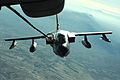 KC-10A Extender from the 908th Expeditionary Aerial Refueling Squadron refuels an Italian Tornado fighter over Afghanistan.jpg