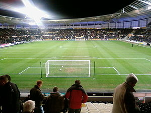 2007 All Golds Tour - Image: KC Stadium before Hull v Burnley