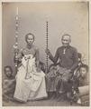 KITLV 4384 - Isidore van Kinsbergen - Two pedanda's from Boeleleng- Ida Gede Made Gunung Gede and Ida Wajan Boer (oe) wan - 1865.tif