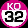 KO-32 station number.png