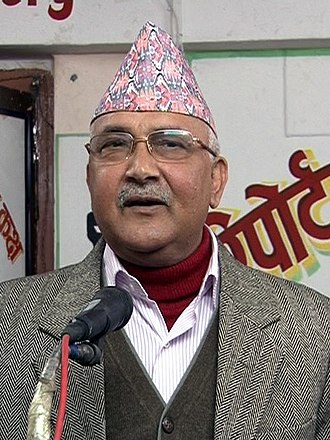 Communist Party of Nepal (Unified Marxist–Leninist) - Khadga Prasad Oli: current party chairman and former Prime Minister of Nepal