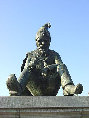 Gnome King Kyrië - Kyrie, the Kabouter king from the old folklore from the Campine, a region in the Dutch province of North Brabant.