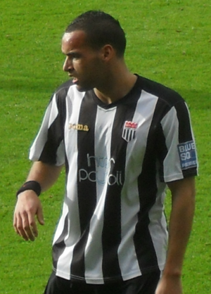 Kaid Mohamed - Mohamed playing for Bath City in 2010