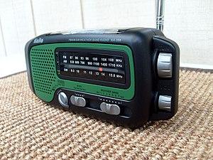 Emergency radio - Image: Kaito KA 350 (9480941315)