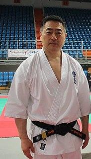 Shokei Matsui Japanese-born Korean martial artist
