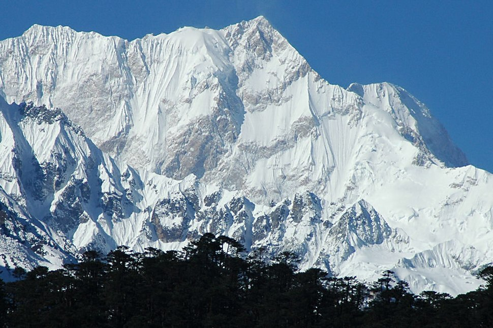 Kangchenjunga East Face from Zemu Glacier