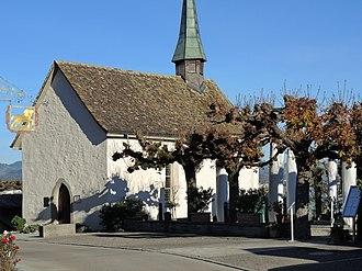 Hurden - Kapelle zu Ehren der heiligsten Dreieinigkeit (Holy Trinity chapel) in Hurden
