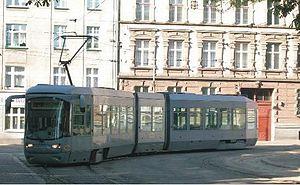 Bytom - A tram in Bytom