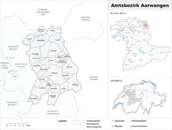 Vị trí của Aarwangen