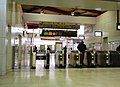 Katsuta Station ticket barriers 20110331.jpg
