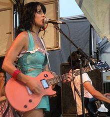 Katy Perry at Vans Warped Tour 2008 in Uniondale, New York