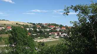 Kavečany - General view of houses in Kavečany (July 2007)