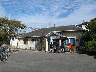 Kayamachi Station Railway station in Iga, Mie Prefecture, Japan