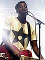 Kele Okereke on guitar..jpg