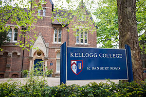 Kellogg College, Oxford - Image: Kellogg College by John Cairns 15.5.14 129