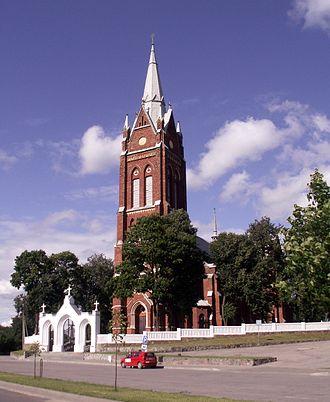 Kelmė - Kelmė church