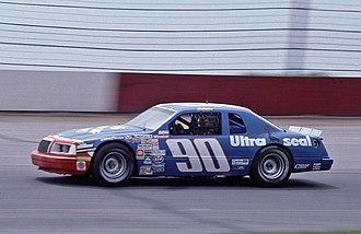 Ken Schrader - Schrader's 1985 Cup car